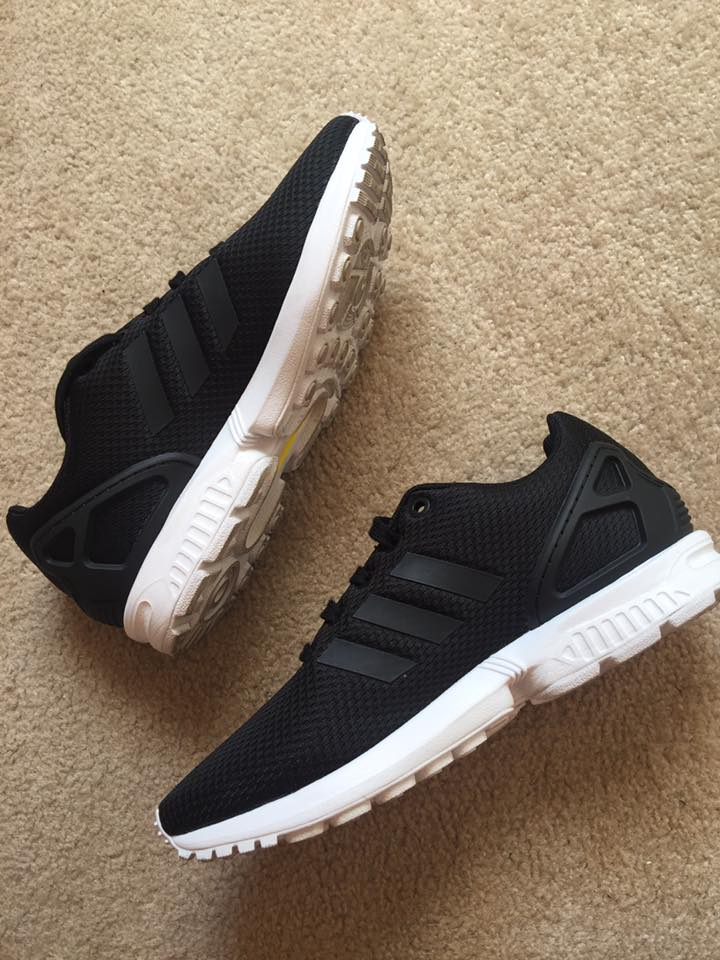 sklep internetowy dobra tekstura szybka dostawa adidas zx flux damskie na nogach