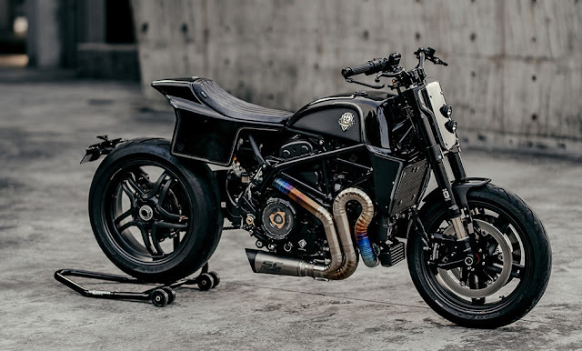 Ducati Hypermotard939 By Rough Crafts Hell Kustom