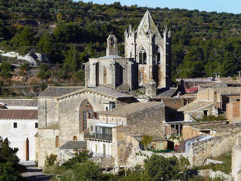 Vallbona de les Monges Real Monasterio de Santa María