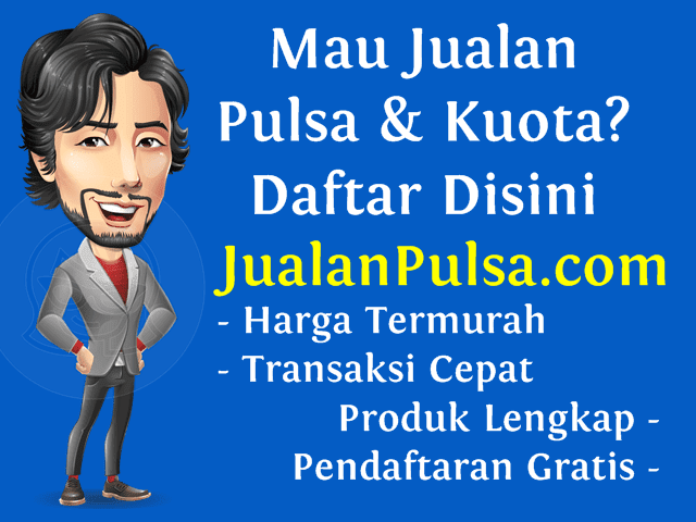 JualanPulsa.com Web Resmi Distributor Pulsa Murah All Operator Nasional