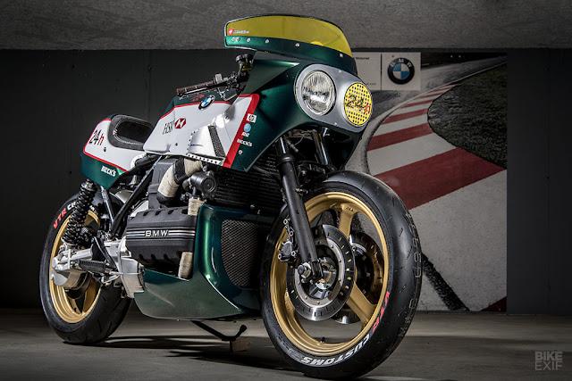 BMW K100 độ lấy cảm hứng từ giải đua Le Mans