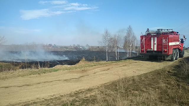За прошедшие сутки подразделения пожарной охраны городского округа Богданович выезжали на ликвидацию 7 пожаров