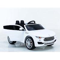 Mobil Mainan Aki Pliko PK8800 Maserati Lavante Dua Kursi Double Power