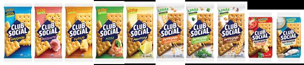 Club Social lança nova fórmula mais crocante e saborosa