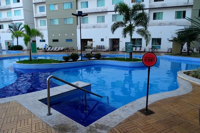 Goiás - Diário de bordo de Caldas Novas - Hotel Riviera Park