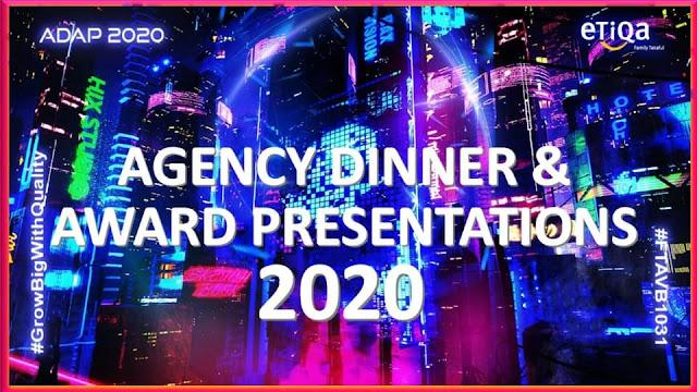 Agensi Dinner & Award Presentation 2020 (ADAP 2020)