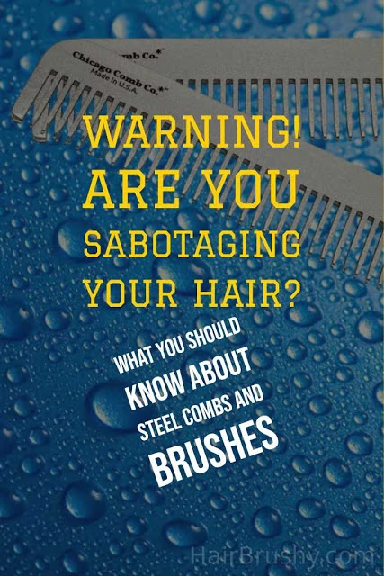 Are metal brushes bad for your hair