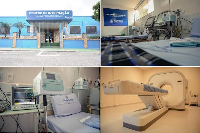 Prefeitura de Anápolis inaugura Centro de Internação com capacidade para 52 leitos