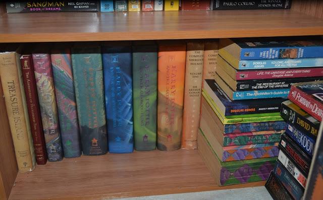Harry Potter Shelf, Fiction Shelf