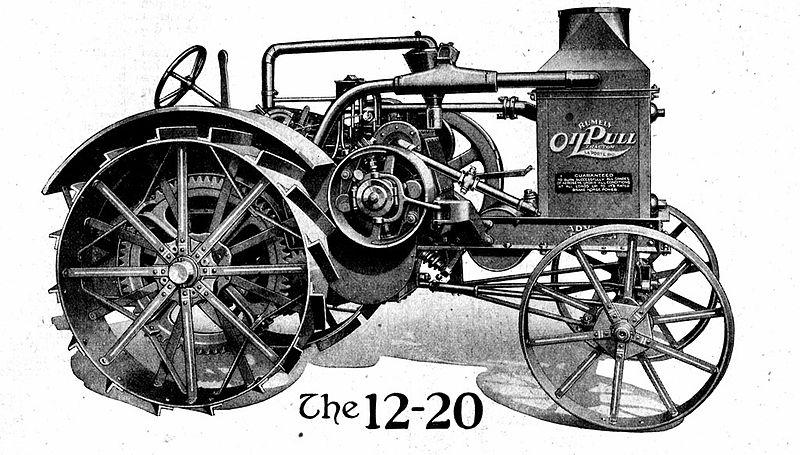 vintage pig clip art: Vintage Ramley Tractor Clip Art