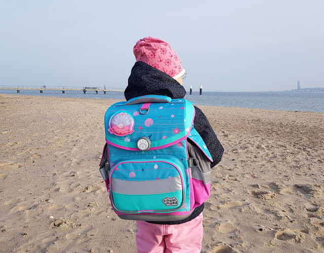 Einschulung 2021: Ein Meerjungfrauen-Schulranzen für unser Küstenmädchen. Ich zeige Euch auf Küstenkidsunterwegs den maritimen Ranzen unseres Mädchens.