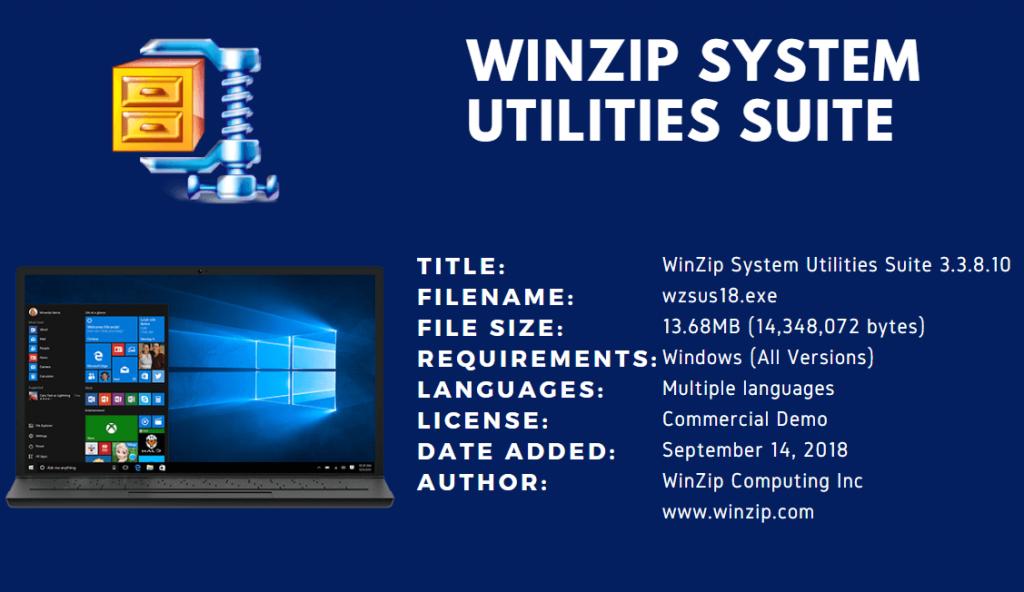 Winzip Suite Pro 2022 Free Download serial number