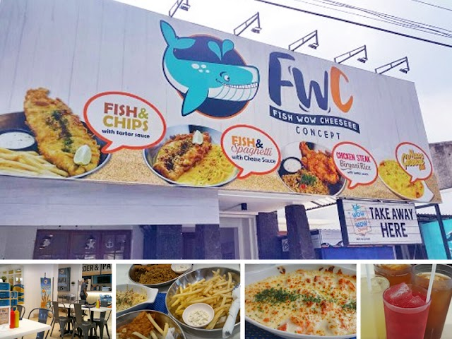 Fish Wow Cheeseee (FWC) Concept, Wisata Kuliner Pilihan di Bandung