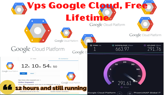 Vps Google Cloud , Free Lifetime Update May