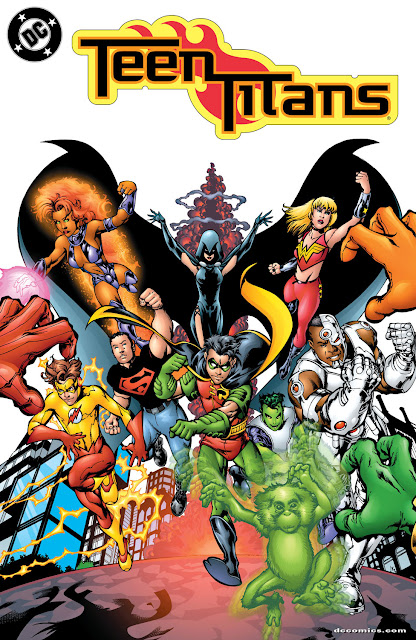 teen titans dc comics