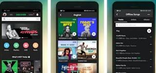 aplikasi pemutar musik di android  terbaik & gratis - online & offline- joox music