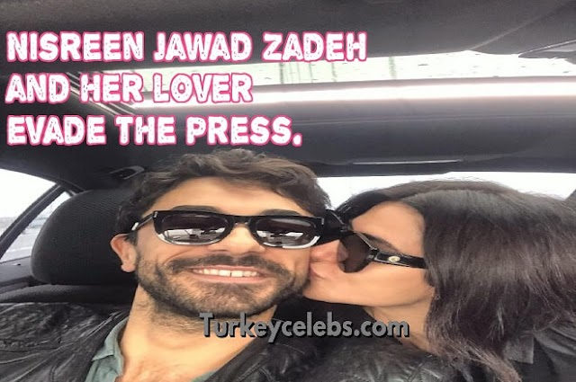 Nisreen jawad zadeh and her lover gokhan alkan first appearance.