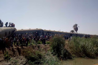 Sohag train accident