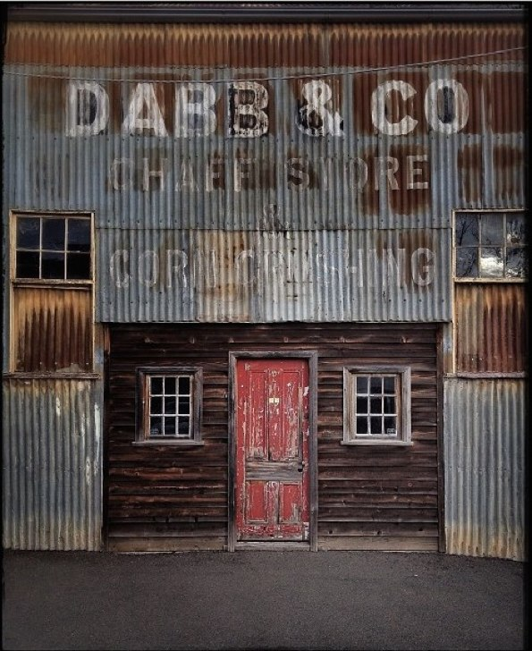 Dabb & Co Chaff Store & Corn Crushing Maldon, Central Victoria © Julie Hollow