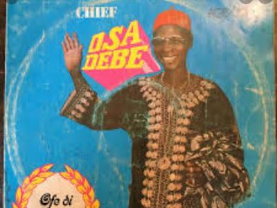 Music:  Osadebe - Onwere Ego (throwback songs)