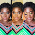 Mercy Johnson shares happy new week makeup