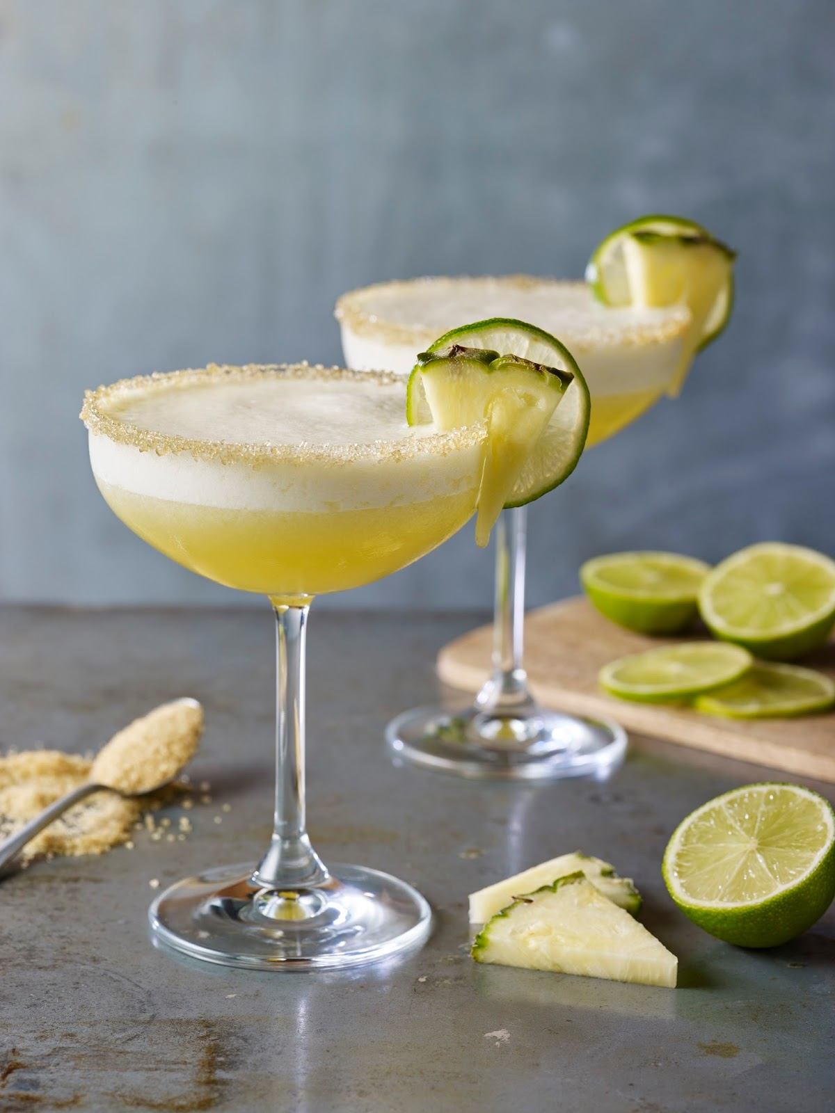 Pineapple And Demerara Frozen Margarita