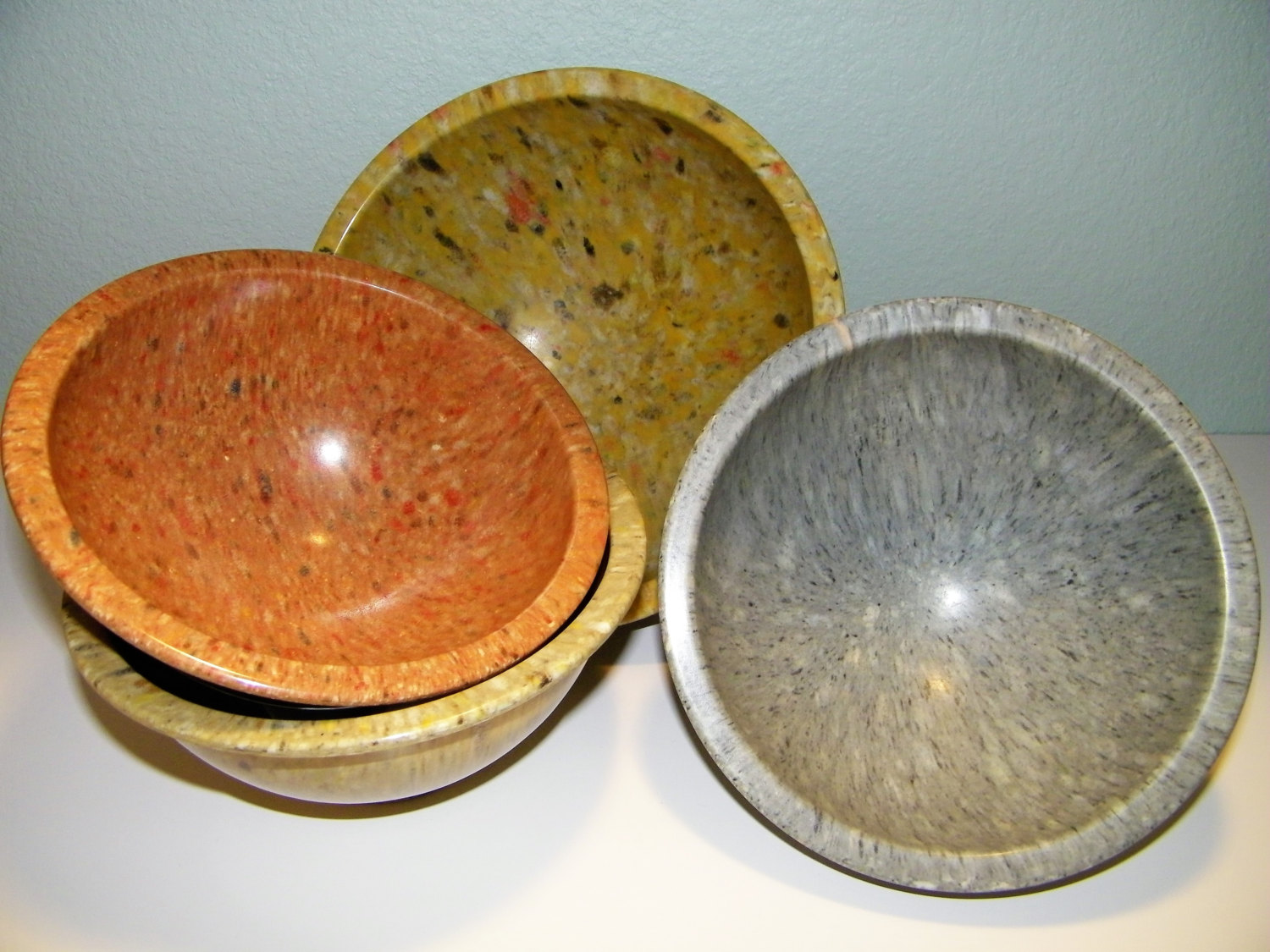 Melmac Mixing Bowls from Etsy Shop MUSEUMofKITSC & Vintage Plastic Melmac Dinnerware History Melamine : The Making of ...