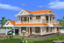 Green Homes Beautiful 2 Storey House Design- 2490 Sq.feet