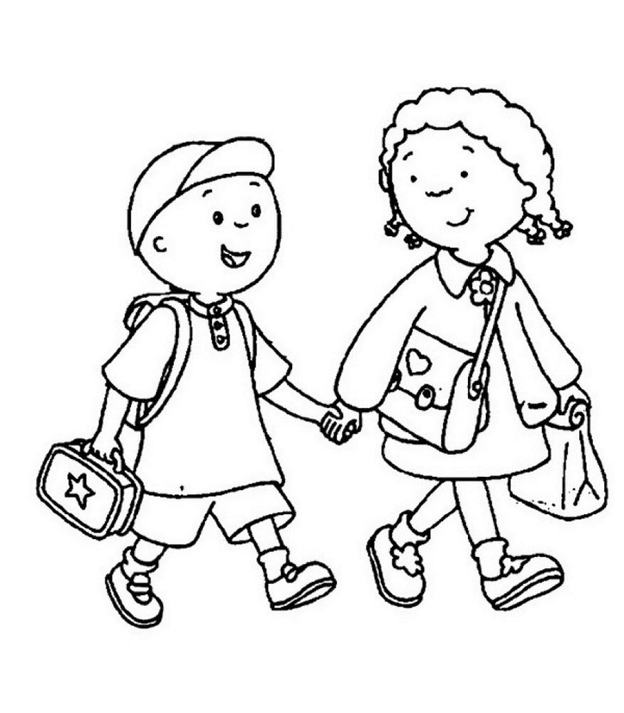 860 Koleksi Gambar Kartun Anak Pergi Sekolah Gratis Terbaru