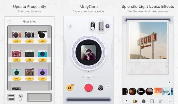 Best Polaroid Photo Editing Apps MolyCam