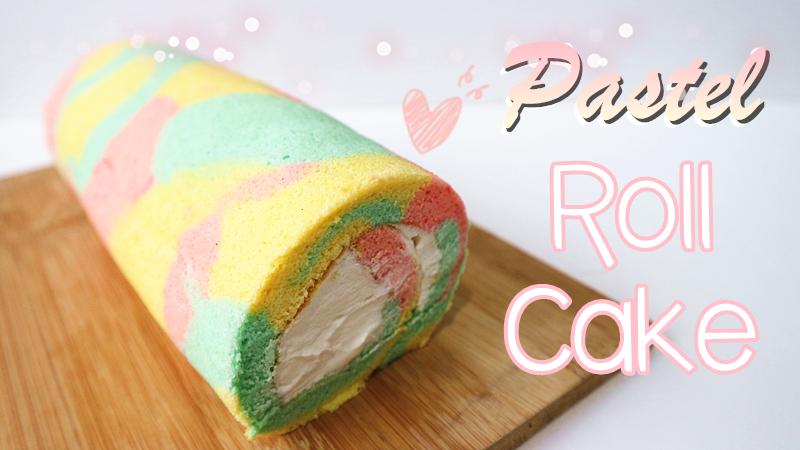 Pastel Roll Cake 粉嫩系捲蛋