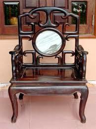 ghế trắc cũ