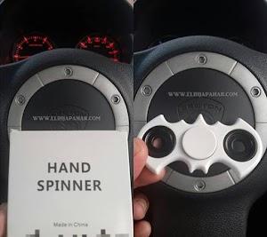 Fenomena Fidget Spinner Dikalangan Pelajar, Aku Pun Terjebak!