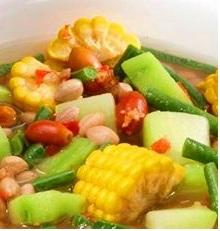 cara memasak sayur asem