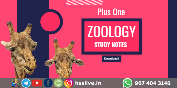 plus one zoology study notes