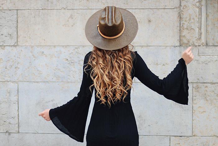 cheveux long ondulés