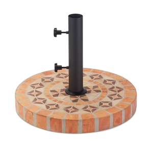 http://www.osh.com/Osh-Categories/Outdoor/Outdoor-Living/Patio-Furniture/Umbrellas/Outdoor-Interiors-Round-Umbrella-Base-Terra-Cotta/p/7225642