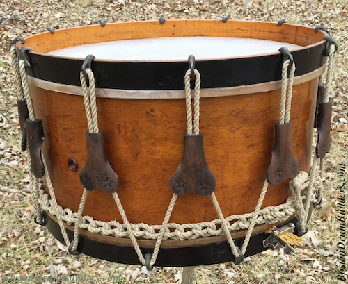 1890s Joseph B. Treat Rope Tension Drum