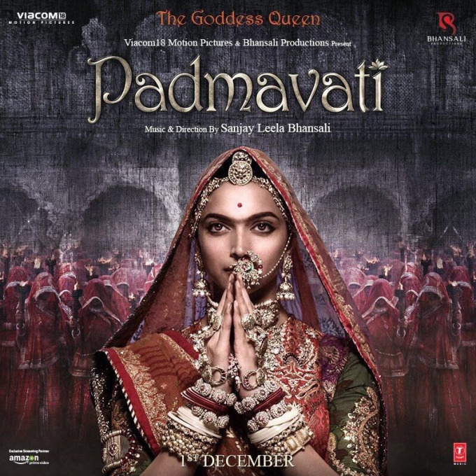 Padmavati Film First Look Poster - Shahid Kapoor and Deepika Padukone