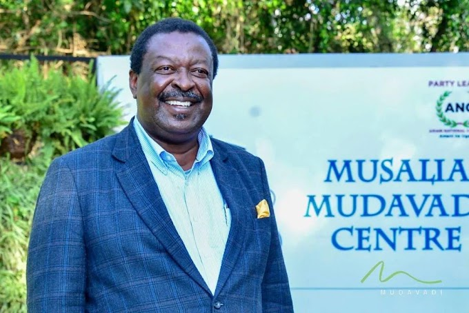 Yes, I have started 2022 campaigns, I have met several leaders, including KARUA, KENETH, KOSGEI – MUDAVADI causes panic to RAILA and RUTO's camps