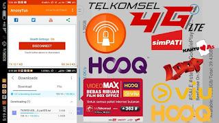 Kabar bahagia untuk anda para pelanggan Telkomsel khususnya pemakai data internet Cara Memakai Anonytun, Menyeting Untuk Kuota Videomax Telkomsel