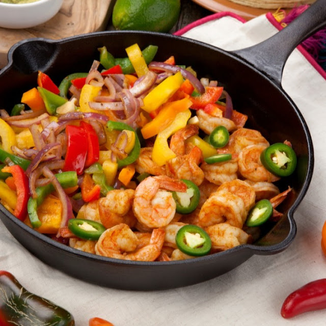 Shrimp Fajitas - 1