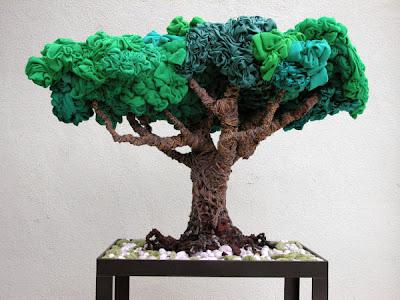 árbol de tela