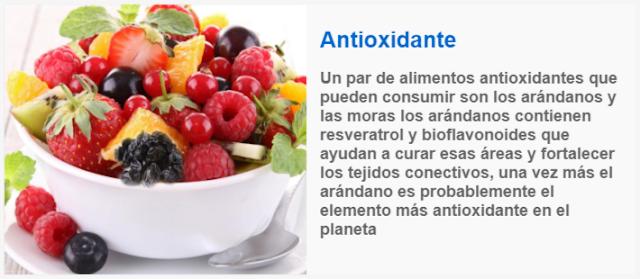 Antioxidantes remedios naturales