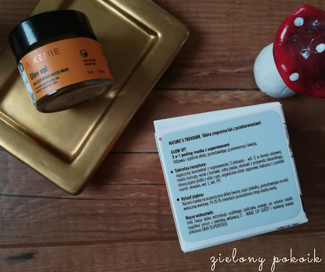 Alkemie - Peeling-maska Glow up!