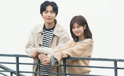 Lee Min Ki dan Jung So Min adalah pemeran utama dalam drama korea Because This Is My First Life