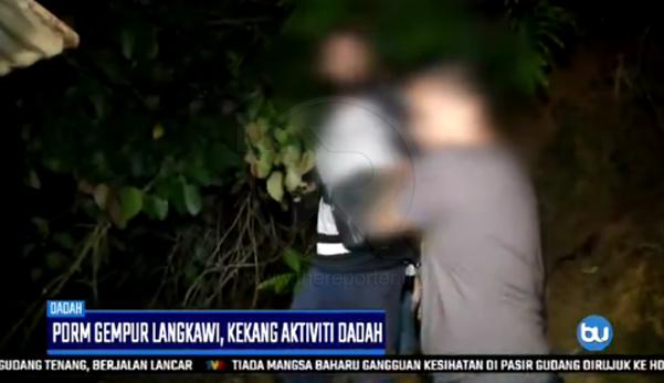 (Video) 'Asal kau lari?' - Alasan suspek ini buat netizen tergelak