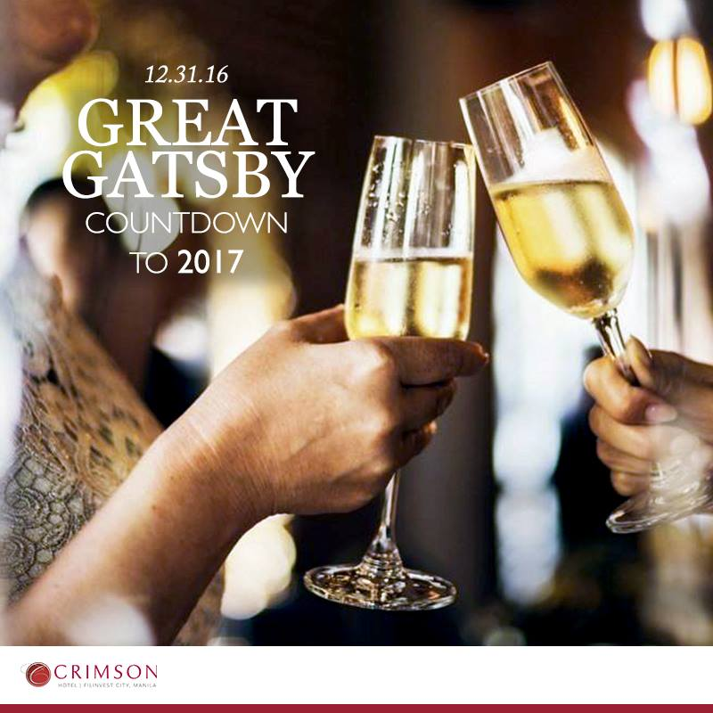 Crimson Hotel's Great Gatsby Countdown to 2017