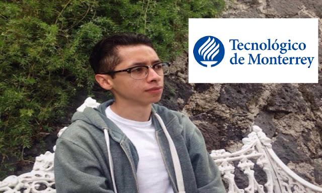 El joven del examen perfecto de la UNAM le dice NO al Tec de Mty que le ofreció una beca 100%
