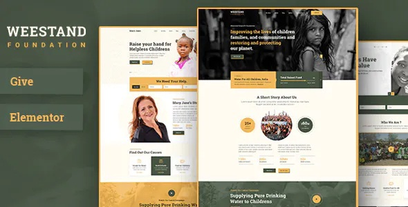 Best Charity Fundraising WordPress Theme